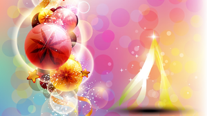 Bauble Christmas Colors Decoration Merry Christmas 1920x1440 Wallpaper