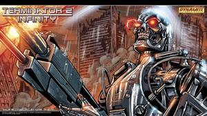 Comics Terminator 1920x1080 wallpaper