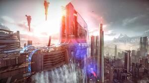 Killzone Shadow Fall Science Fiction Video Games 2048x1152 Wallpaper