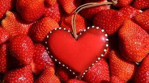 Red Strawberry 5789x3768 Wallpaper