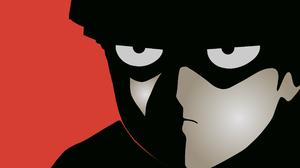 Mob Psycho 100 Minimalism Anime Boys Eyes 2560x1440 Wallpaper