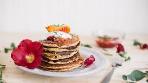 Breakfast Pancake Still Life 4104x2736 Wallpaper