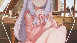 Anime Girls Anime Picture In Picture Eromanga Sensei Izumi Sagiri 1080x1902 Wallpaper