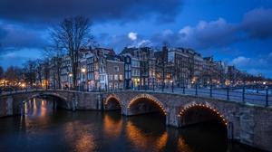 Man Made Amsterdam 2048x1152 Wallpaper