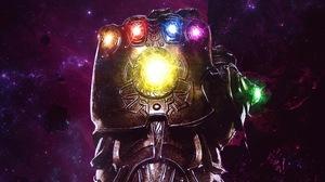 Infinity Gauntlet 2199x1237 wallpaper
