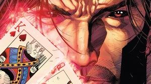 Gambit Marvel Comics Marvel Heroes Comics Sketch Artist X Men Comic Art Playing Cards 2560x1600 Wallpaper