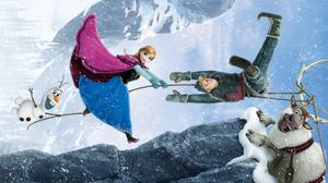 Anna Frozen Frozen Movie Kristoff Frozen Olaf Frozen Sven Frozen 2560x1440 Wallpaper