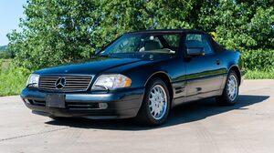 Black Car Car Convertible Mercedes Benz Sl320 Sport Car 2048x1363 Wallpaper