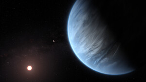 Space Planet Stars Universe Galaxy Milky Way Solar System Sun K2 18b Exoplanet 6000x3500 Wallpaper
