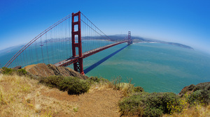 Man Made Golden Gate 2560x1600 wallpaper