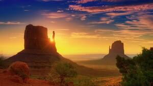 Arizona Desert Monument Valley Sky Sunbeam Sunrise Utah 4157x2761 Wallpaper
