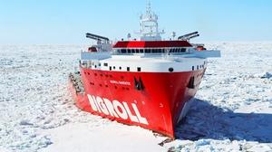 Arctic Bigroll Barentsz Ice Sea Ship 2000x1200 Wallpaper
