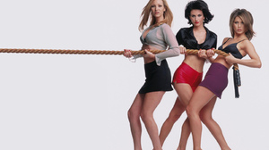 Courteney Cox Friends Tv Show Jennifer Aniston Lisa Kudrow Monica Geller Phoebe Buffay Rachel Green 1600x1200 Wallpaper