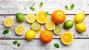 Fruit Lemon Lime Still Life Orange Fruit 2169x1500 Wallpaper