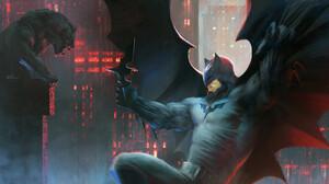 Artwork Batman DC Comics 1920x950 Wallpaper