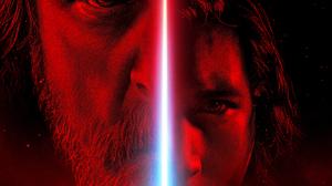 Mark Hamill Adam Driver Luke Skywalker Kylo Ren Star Wars The Last Jedi Star Wars 2048x1682 Wallpaper