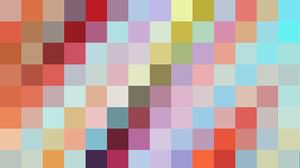 Shapes Geometry Colorful Digital Art 1920x1080 Wallpaper