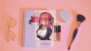 Picture In Picture Anime Girls Digital Nakano Nino 5 Toubun No Hanayome 2133x1200 wallpaper