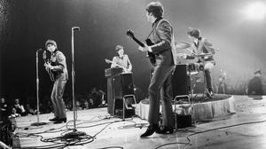 George Harrison John Lennon Paul Mccartney Ringo Starr 4315x2877 wallpaper