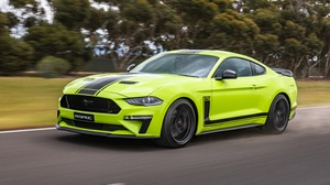Car Ford Ford Mustang Green Car Muscle Car Vehicle 4368x2912 Wallpaper