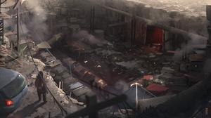 Barren Destruction Post Apocalyptic 1638x900 Wallpaper