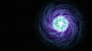 Galaxy Spiral Galaxy Space Stars Blender Space Art 1920x1080 Wallpaper