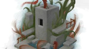 Nature Coral Fish Castle Seahorses Digital 1668x2388 wallpaper