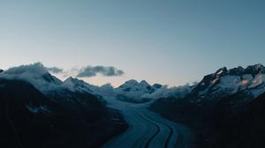 Landscape Nature Mountains Snow 3000x2000 Wallpaper