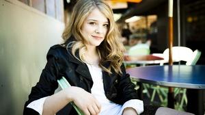 Woman Model Girl Leather Jacket Blonde 3200x2000 wallpaper