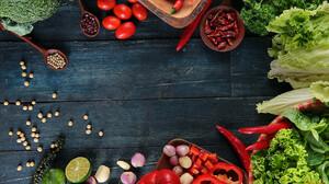 Food Vegetables Tomatoes Salad Pepper Garlic Paprika 1920x1080 Wallpaper