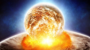 Explosion Planet Space 1920x1200 Wallpaper