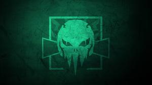Fan Art Green Minimalist Operation High Death Skull Tom Clancy 039 S Rainbow Six Siege 12000x6750 Wallpaper