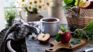Apple Fruit Still Life 6490x4327 wallpaper