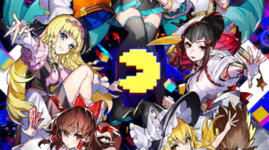 Anime Anime Girls Touhou THE IDOLM STER Tales Of Series Hatsune Miku Tekken Mika Pikazo Vertical Cro 1272x1800 Wallpaper