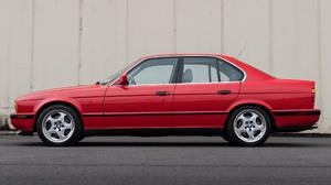 Bmw M5 Car Luxury Car Old Car Red Car 1920x1080 Wallpaper