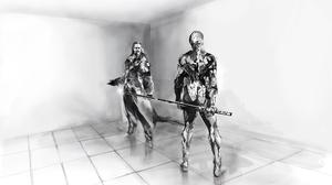 Black Amp White Metal Gear 2560x1600 Wallpaper