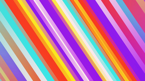 Abstract Colorful Digital Art Geometry Lines Stripes 1920x1080 Wallpaper
