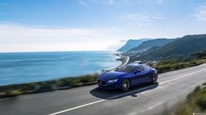 Blue Car Car Maserati Maserati Ghibli Sport Car Supercar Vehicle 5472x3078 Wallpaper
