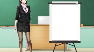 Teachers Classroom Anime Anime Girls 4000x3000 Wallpaper
