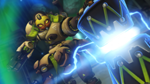 Orisa Overwatch Overwatch 2560x1072 Wallpaper