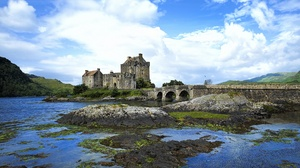 Castle Eilean Donan Castle Scotland 2048x1436 Wallpaper