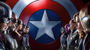 Black Panther Marvel Comics Black Widow Captain America Falcon Marvel Comics Hawkeye Iron Man Scarle 9749x4875 Wallpaper