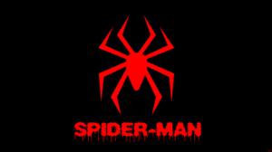 Black Shapes Spider Man Symbol 8500x4500 Wallpaper
