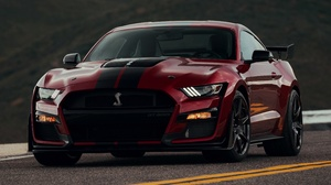 Ford Ford Mustang Car Muscle Car Red Car 4096x3277 Wallpaper