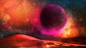 Sci Fi Planet 3000x2000 Wallpaper