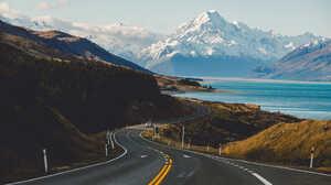 Landscape Road Car Clouds Sky 500px 2000x1333 Wallpaper