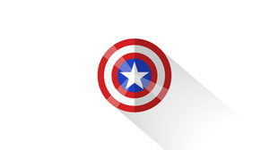 Captain America Marvel Comics Minimalist 5120x2880 Wallpaper