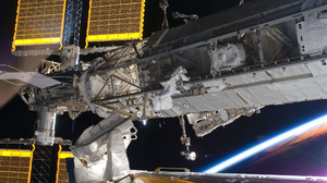 International Space Station ISS NASA Space Orbital Stations Orbit Technology Astronaut Earth Solar P 2560x1440 Wallpaper