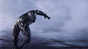 Black Panther Marvel Comics 4974x3316 wallpaper