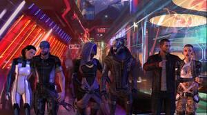 Commander Shepard Garrus Vakarian Jack Mass Effect Tali 039 Zorah 2181x1238 Wallpaper